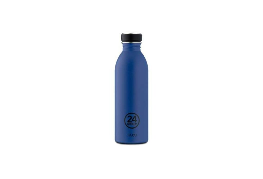 Ampolla Blau fosc d'acer inoxidable 500ml