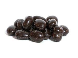 Ametlles cobertes de xocolata 72%