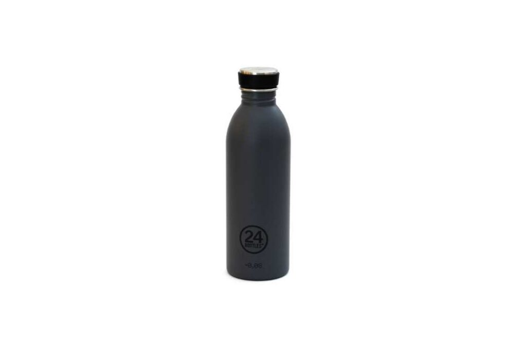 Ampolla Gris d'acer inoxidable 500ml