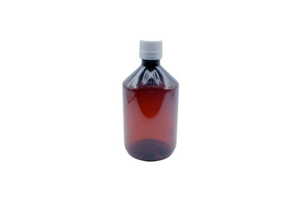 Ampolla PET de 500ml.