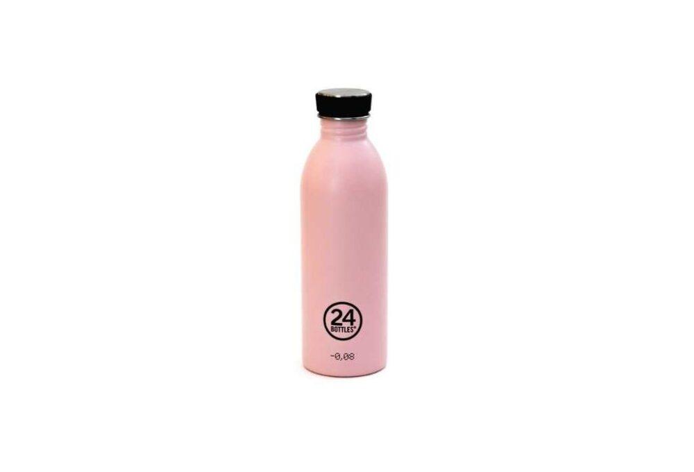 Ampolla Rosa d'acer inoxidable 500ml