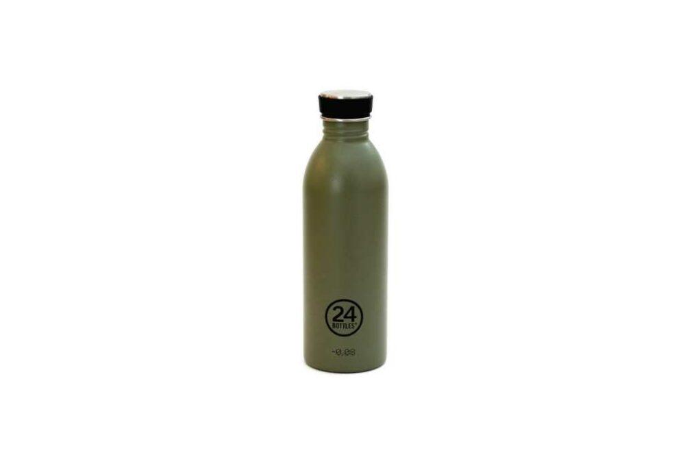 Ampolla verda d'acer inoxidable 500ml