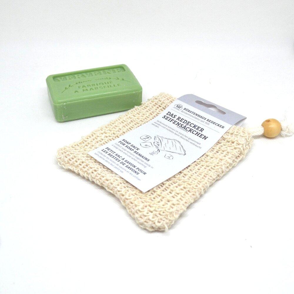 bossa de cotó per pastilla de sabó