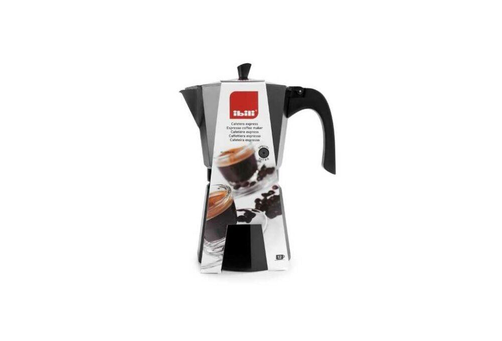 Cafetera d'alumini fos per 3 tasses
