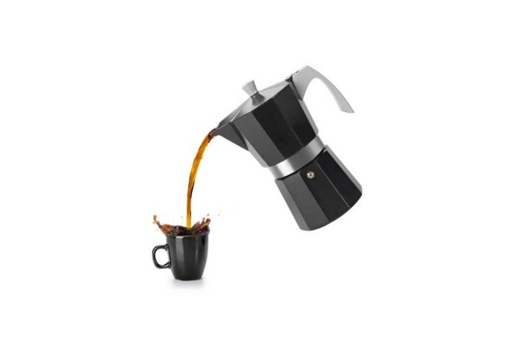 Cafetera per inducció de 3 tasses
