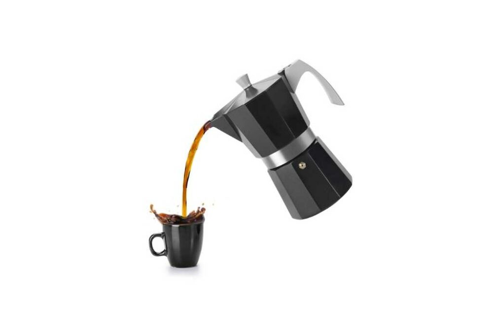 Cafetera per inducció de 6 tasses