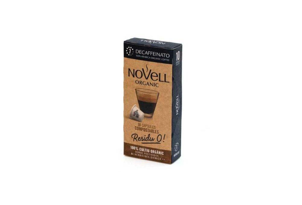 Càpsules de cafè Descafeinatto Novell (20u)