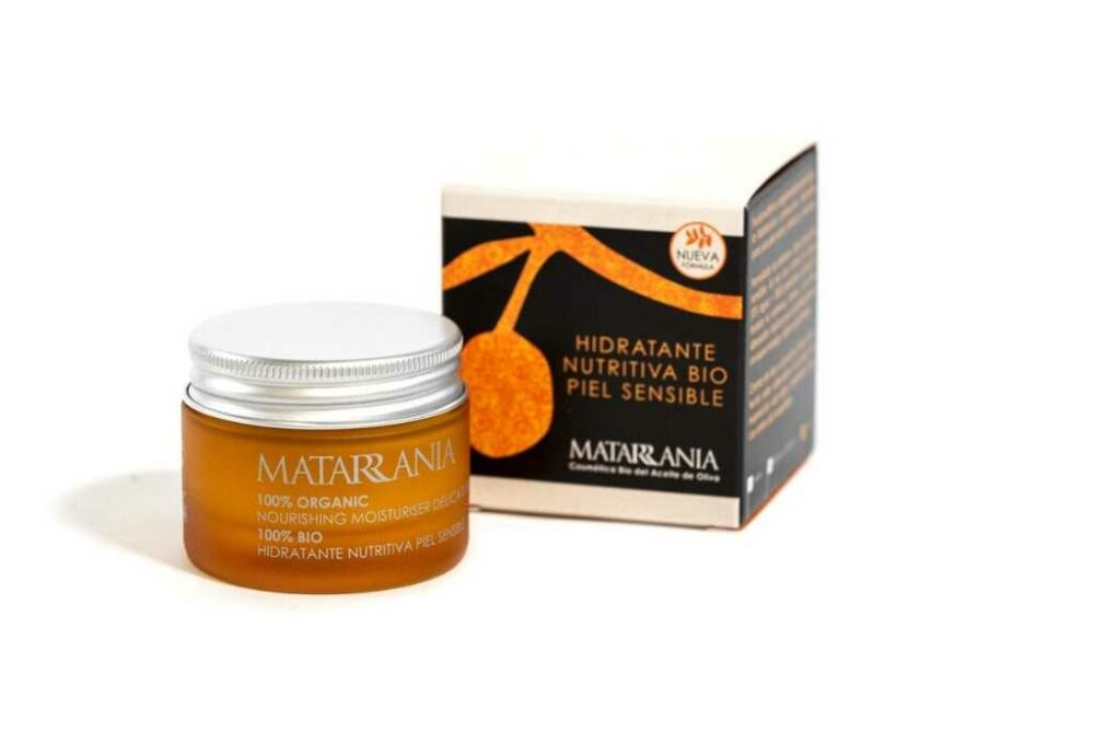 Crema hidratant nutritiva pell sensible Matarrania
