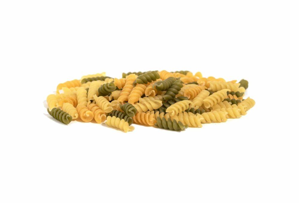 Espirals de blat dur amb verdures