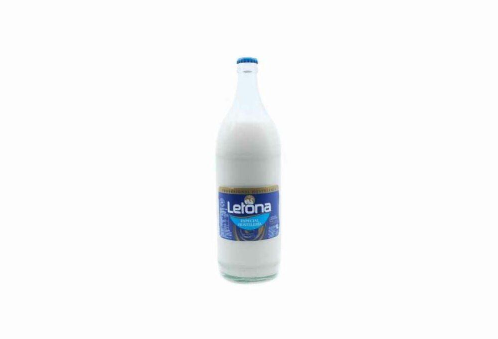 Llet semidesnatada Letona 1L