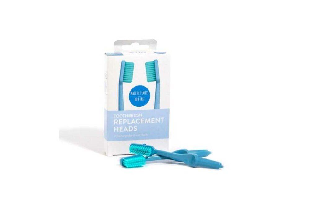 Recanvi per raspall de dents biodradable (blau)