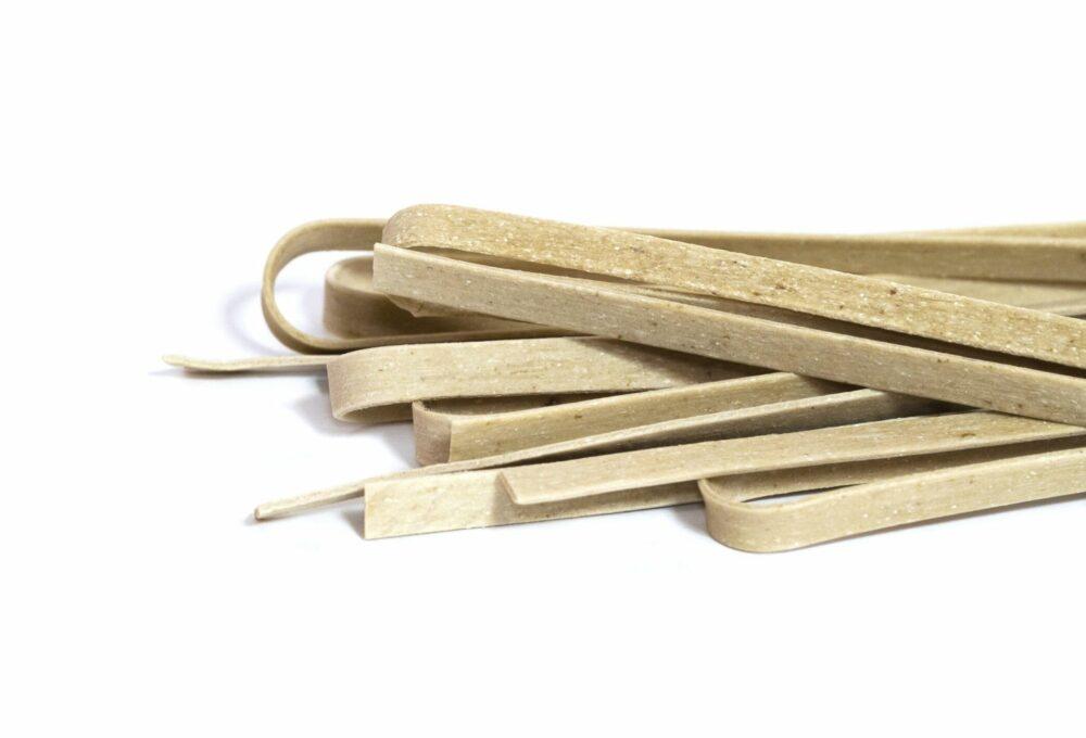 Tallarins de blat amb ceps