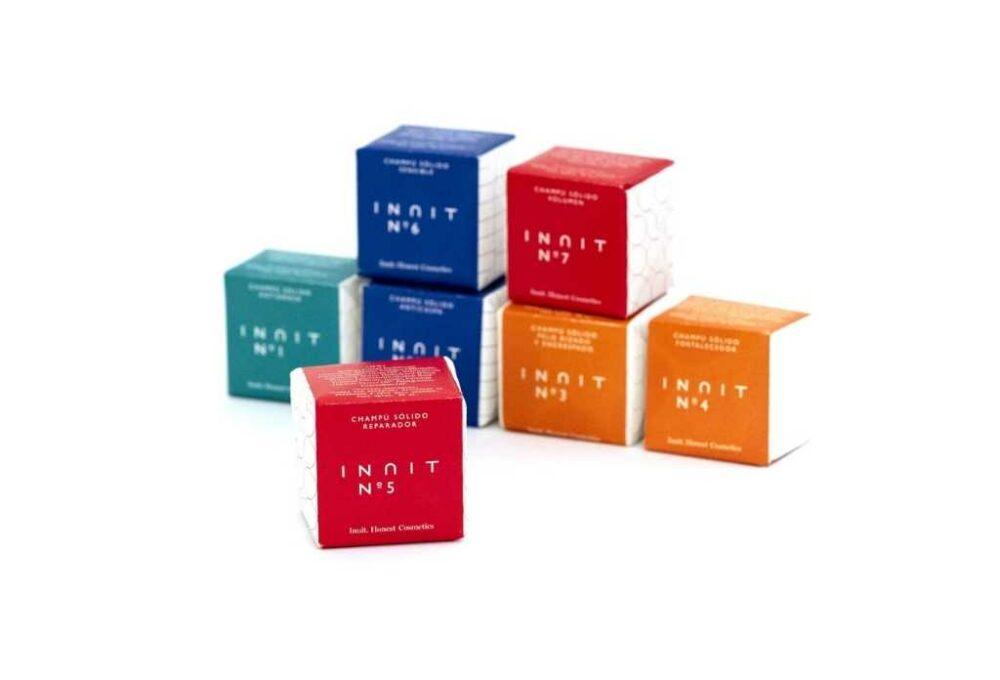 Xampú sòlid Reparador n.5 INUIT