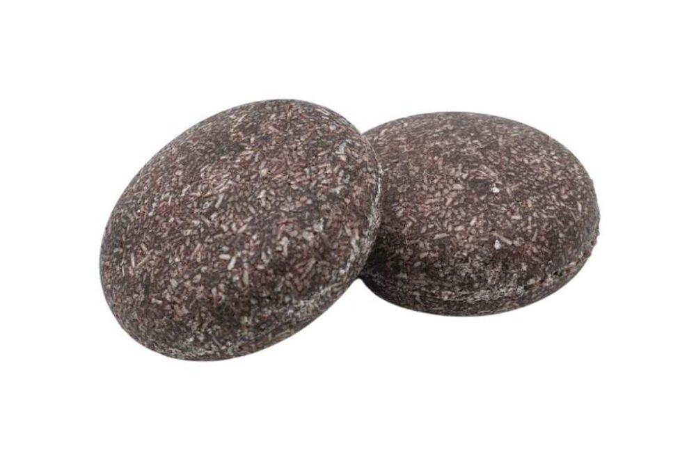 Xampú sòlid xocolata (cabell sec)