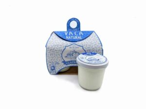 Iogurt ecològic natural de vaca (2x128g)