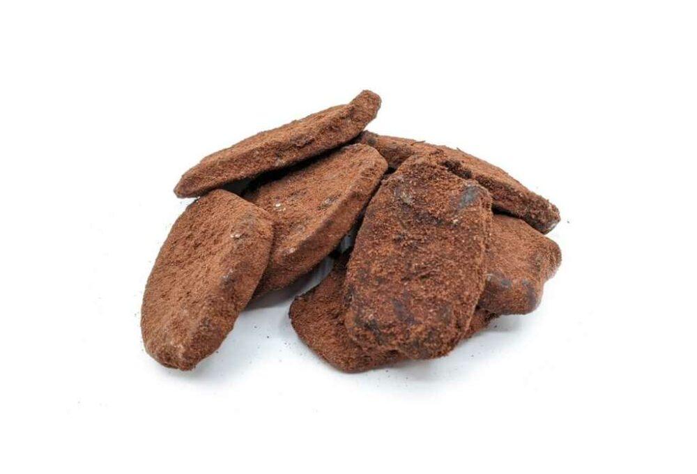 Gingebre deshidratat amb cacao