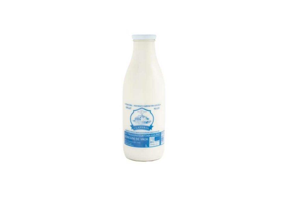Llet fresca sencera ecològica de vaca 1L