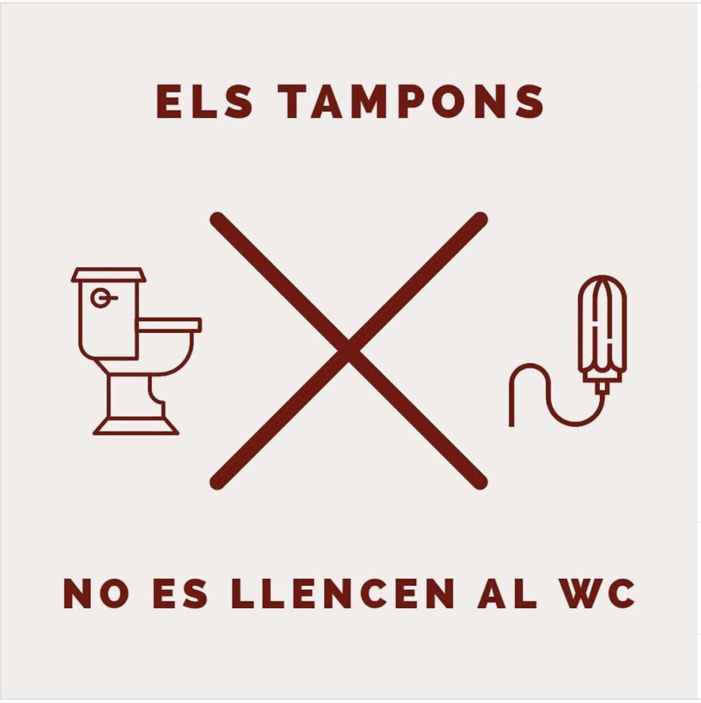 Reciclar tampons