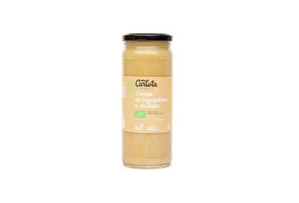 Crema de llegums amb xiitake ecològica 450g
