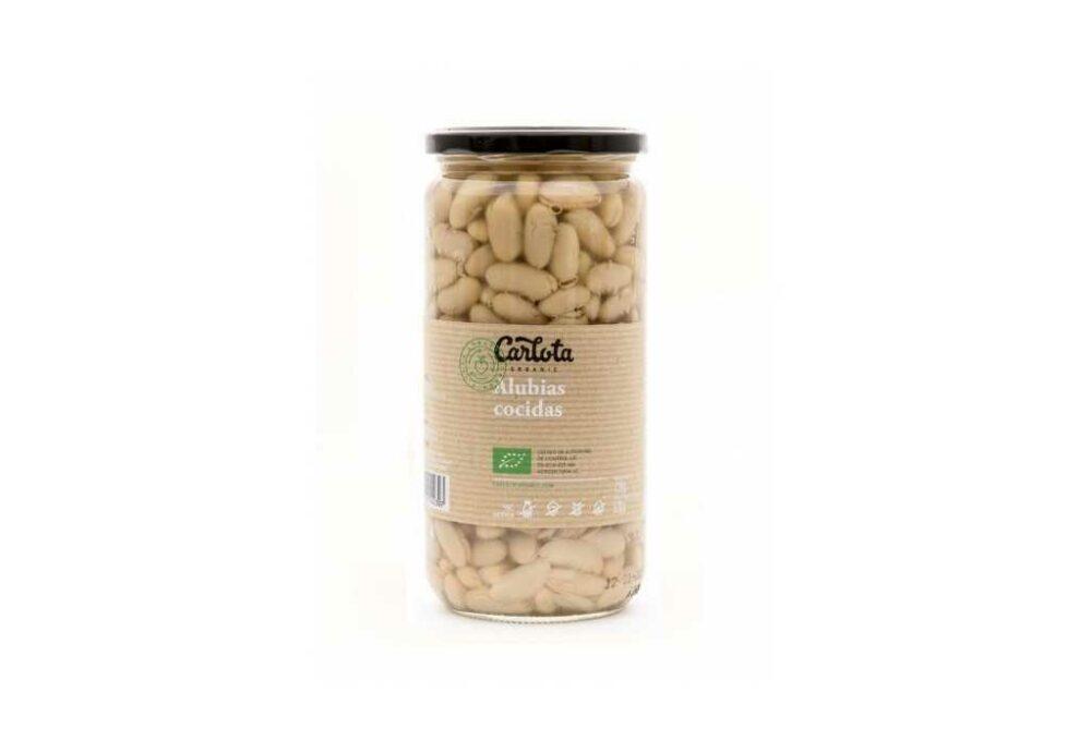 Mongeta blanca cuita ecològica 720g