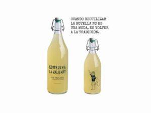 Kombutxa llimona i gingebre La Valiente