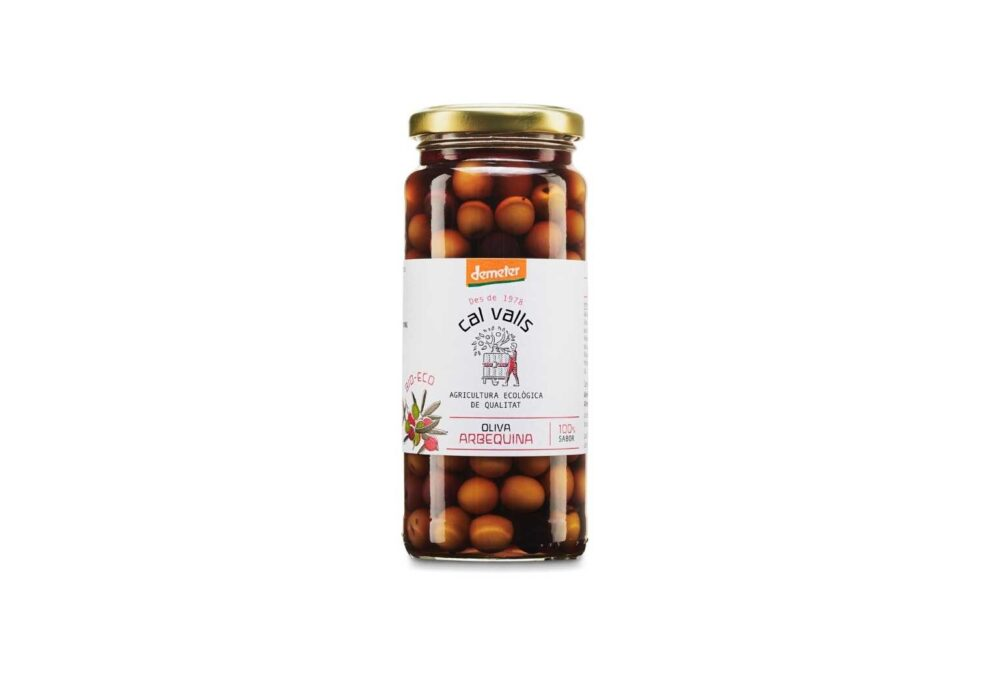 Olives arbequines ecològiques 200g