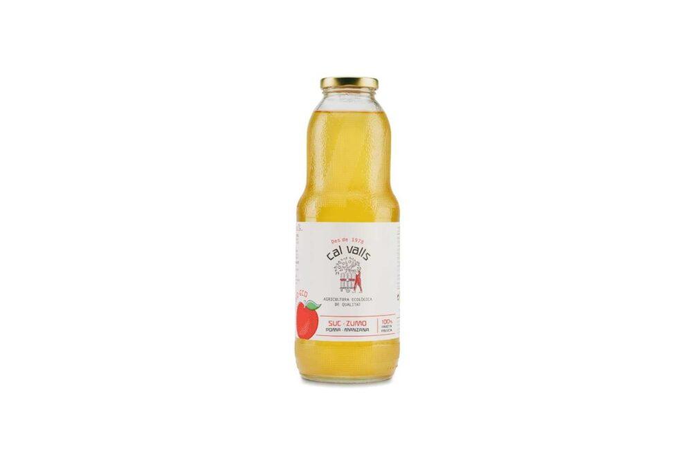 Suc de poma ecològica 1L
