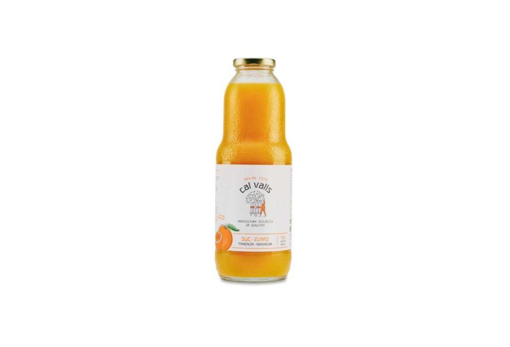 suc de taronja ecològic 1L