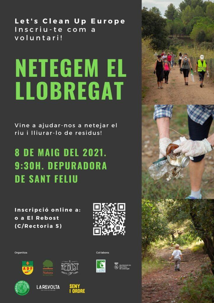 El Rebost es suma a netejar el Riu Llobregat